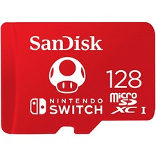 SanDisk 128GB microSDXC UHS-I-Memory-Card for Nintendo-Switch